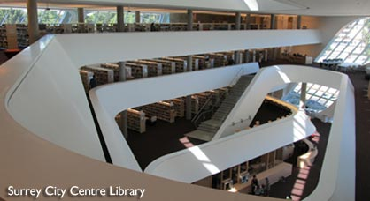 New Central Library in Surrey BC
